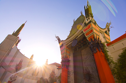 """Cinespia Images - Event Photos from the Chinese Theater Movie Palace screening of Disney's """"Fantasia."""" © Cinespia"""